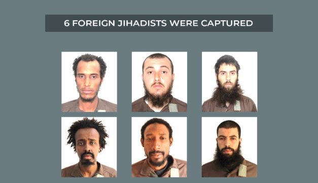 The foreign fighters who had operated in the ranks of ISIS, who were taken prisoner by the Kurdish forces (YPG website ypgrojava.org, February 2, 2019)