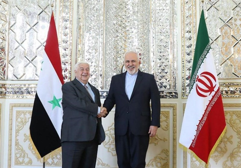 The meeting between the Syrian and Iranian foreign ministers in Tehran (Tasnim, February 5 2019).