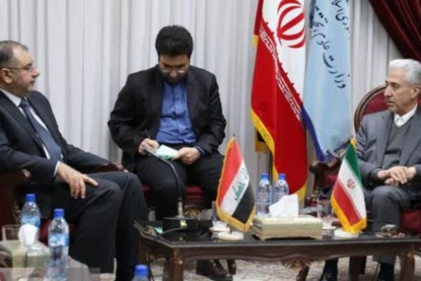 The meeting of the Iraqi and Iranian ministers of science (Mehr, February 2 2019).