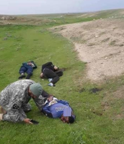 The bodies of the three brothers executed by ISIS (Al-Sumaria News, February 8, 2019)