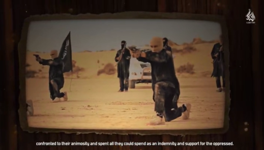 "From the video, ""The Road to Glory"" (or ""The Glorious Way"") produced by the Al-Battar Foundation, which praises the jihad of ISIS's Sinai Province against the ""enemies of Islam"" (Al-Ghurabaa, October 22, 2018)"