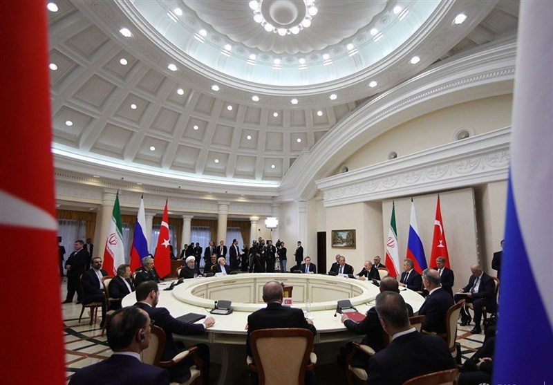 The summit of the presidents of Iran, Turkey and Russia in Sochi (Tasnim, February 14 2019).