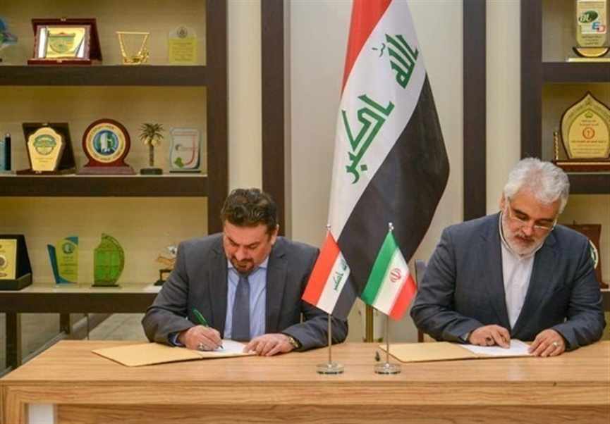 The signing of the cooperation agreement between Azad University and the Iraqi Ministry of Higher Education (Tasnim, February 13 2019).
