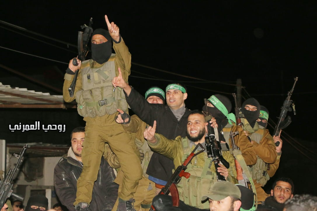 Reception in Rafah (Palinfo Twitter account, February 28, 2019).