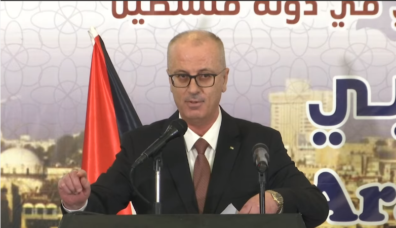 Rami Hamdallah announces paying of salaries to prisoners and families of shaheeds (Rami Hamdallah's Facebook page, March 3, 2019).