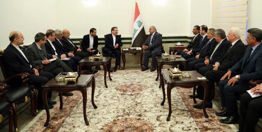The meeting of the Iranian deputy foreign minister with Iraq's prime minister (Fars, February 25, 2019)