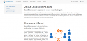 "The ""About Us"" LocalBitcoins page"