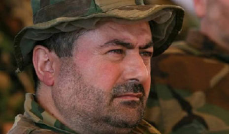 "Hassan Mohammad al-Hajj (Hajj Maher), commander of the ""Aziz Unit"""