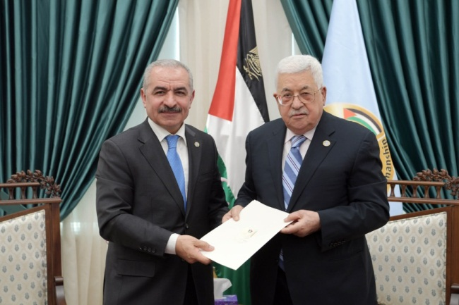 Mahmoud Abbas gives senior Fatah figure Muhammad Ashtiya the job of forming the government (Wafa, March 10, 2019).