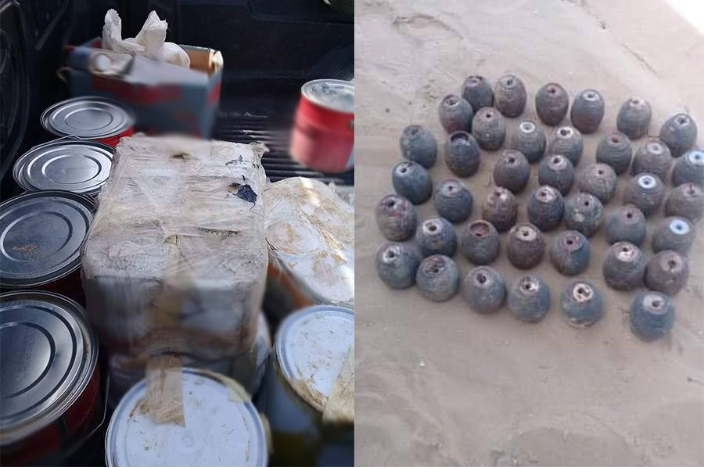 Explosives and IEDs found in northern Sinai (Al-Youm al-Sabea, March 7, 2019)