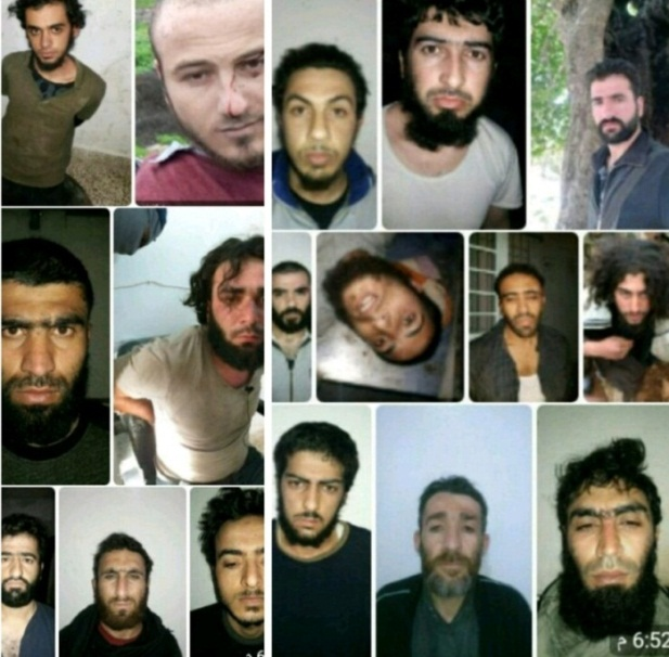 ISIS operatives who escaped from the Idlib main prison after the Russian airstrike (Telegram, March 14, 2019)