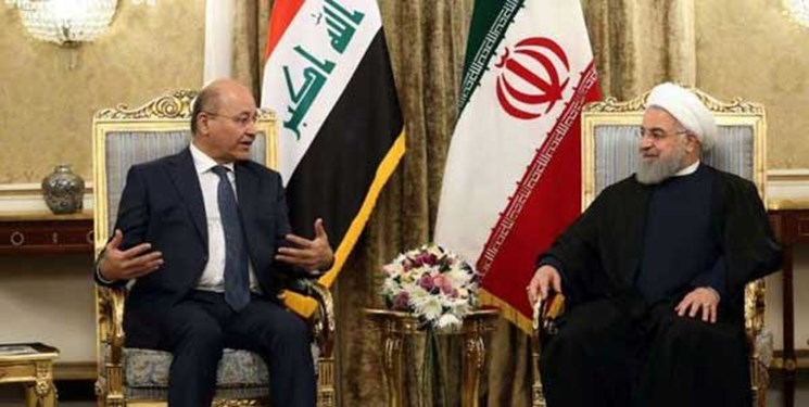 President Rouhani meets with Iraqi President Barham Salih (Fars, March 11 2019).