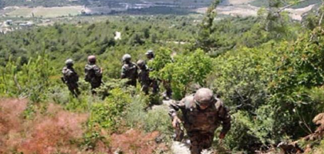 "Tunisian security forces operating against ""terrorist operatives"" in a wooded area in the Jendouba Province in western Tunisia, near the border with Algeria (Tunisian News Agency, March 16, 2019)"