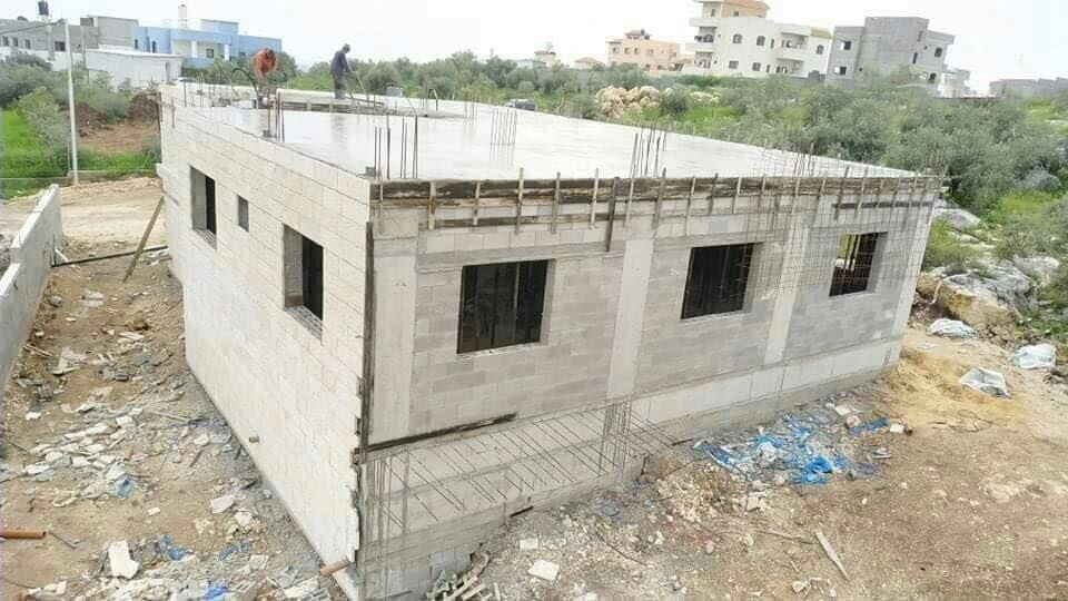 Official Fatah Facebook page with pictures of the house being built for the family of Ashraf al-Na'alwa in Tulkarm (official Fatah Facebook page, March 23, 2019).