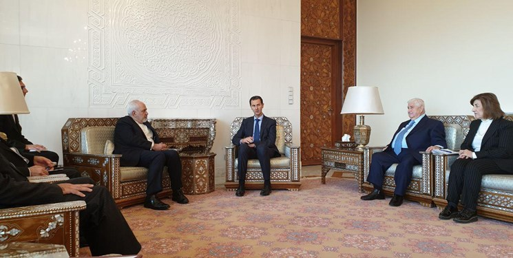 The Zarif-Assad meeting (Fars, April 16, 2019)