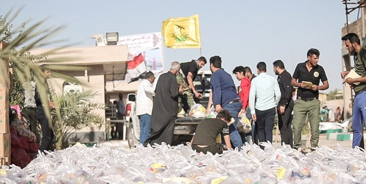 Assistance of Harakat al-Nujabaa' to flood victims in Iran (ISNA, April 15, 2019)