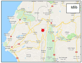 The Kabanah area, southwest of the city of Jisr al-Shughur (Wikimapia)
