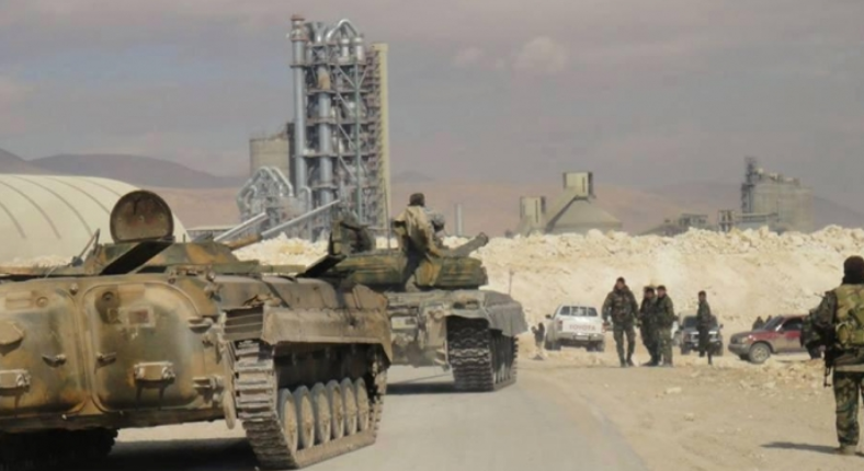 Syrian army reinforcements sent to the Al-Sukhnah area (Baladi, April 25, 2019)
