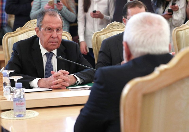 The Lavrov-Zarif meeting in Moscow (Tasnim, May 9, 2019)