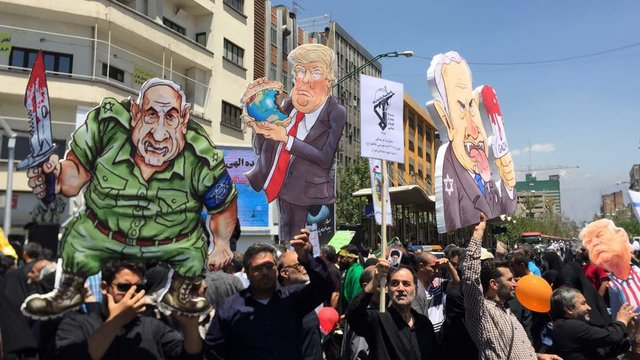 Quds Day rally in Iran in 2018 (ISNA, June 8, 2017)
