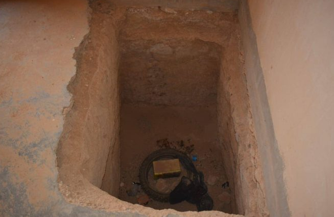 Hiding place discovered by the Iraqi security forces (al-hashed.net, June 8, 2019)