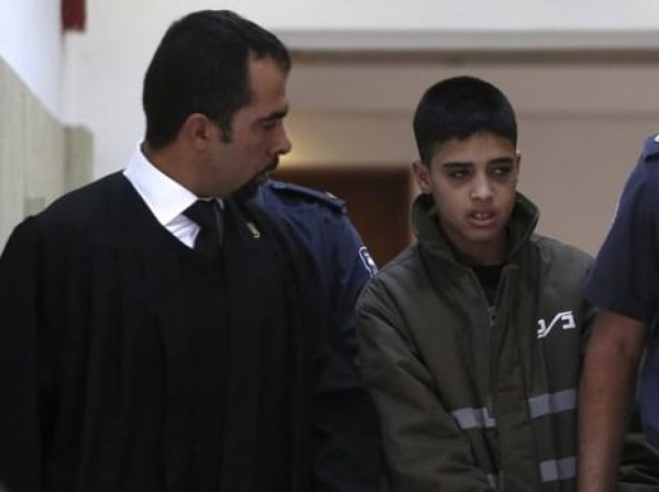 Tarek Barghouth as the lawyer of teenager Ahmed Manasra, who carried out a stabbing attack (al-Ra'i, December 2, 2015).