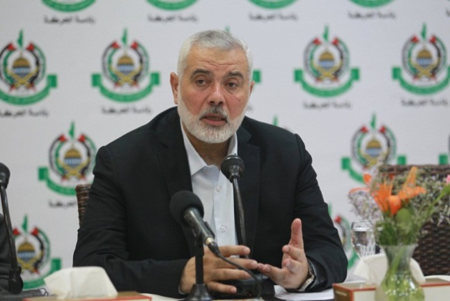 IHH meets with foreign correspondents (Twitter account of the media department of Isma'il Haniyeh's office, June 20, 2019).