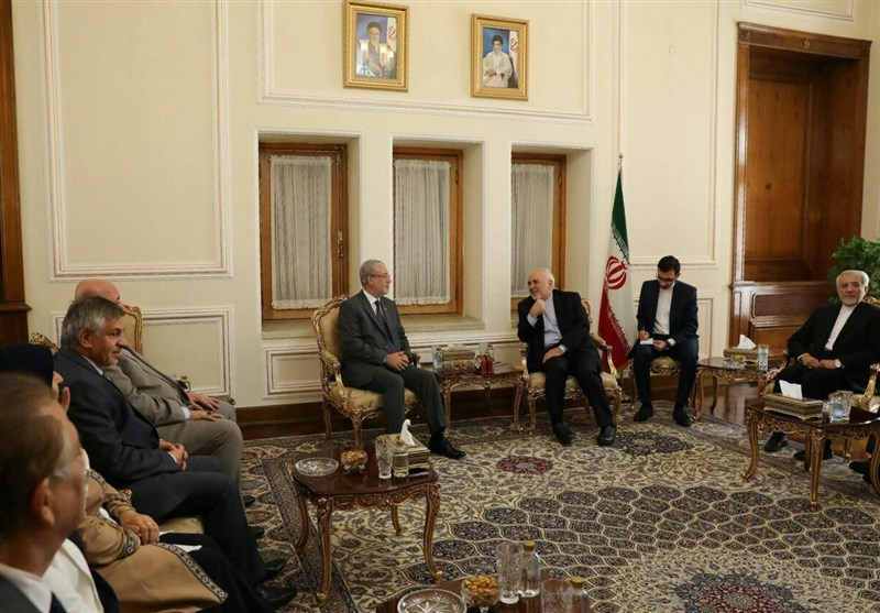 The meeting of the Iranian Minister of Foreign Affairs with the Iraqi parliamentary delegation (Tasnim, June 18, 2019)