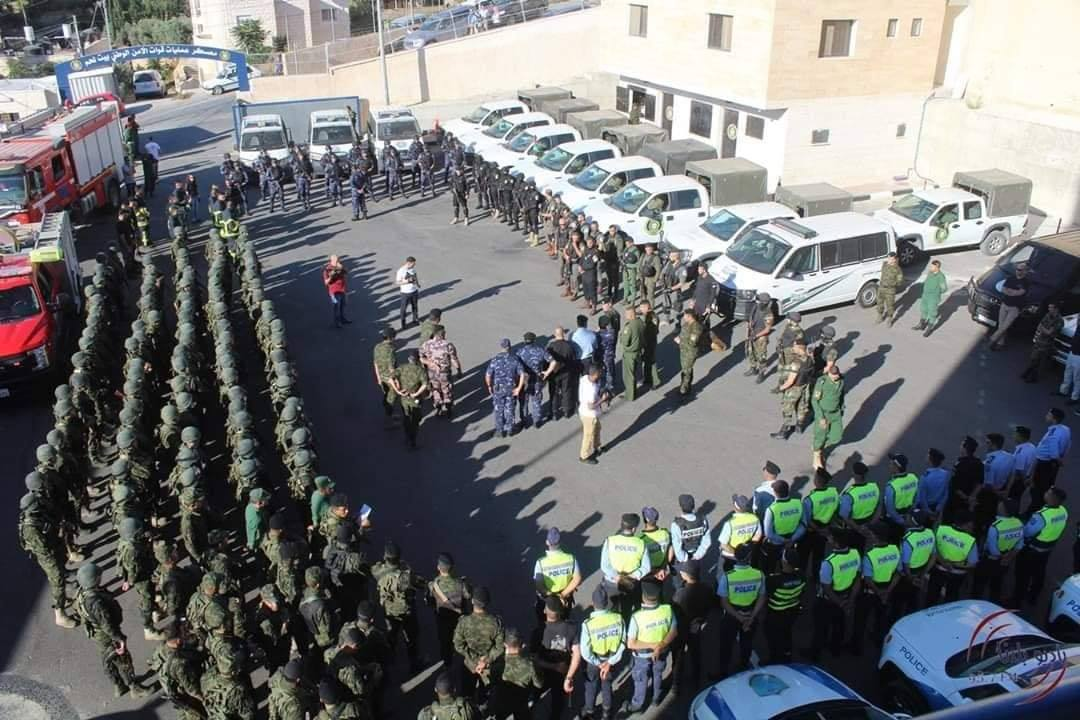 Exercise in Bethlehem (official Facebook page of public relations in the Palestinian preventive security apparatus, July 2, 2019).