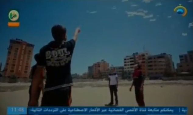 Pictures from a video advertising the Pioneers of Liberation summer camps broadcast on al-Aqsa TV (July 10, 2019).