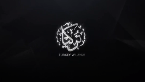 The emblem of ISIS's Turkey Province, as it appears in the video.