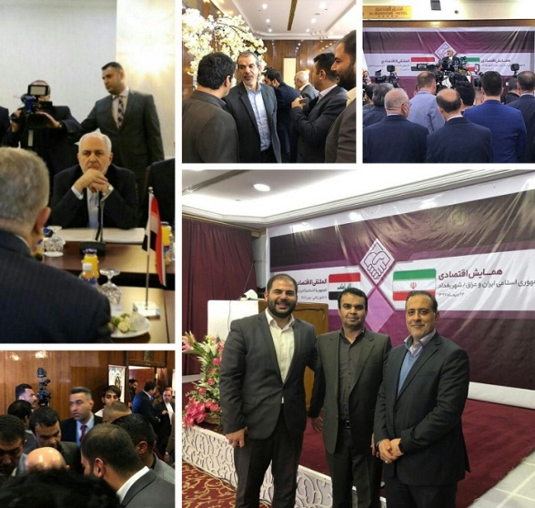 The executive director of Iran Choob, owned by the Foundation of the Oppressed, during his visit to Iraq (mfnews.ir, January 16, 2019).