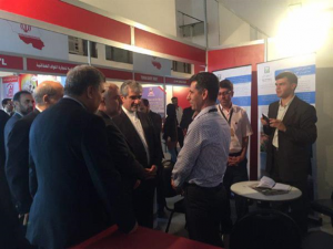 Representatives of General Mechanic and Melli Sakhteman in the Damascus international fair (payasamanpars.ir, September 24, 2017).