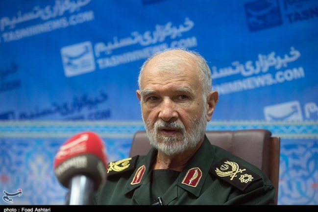 Mohammad Jafar Asadi, the former Commander of Iranian Forces in Syria