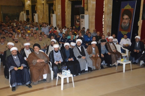 Clerics attending the ceremony (Facebook page of the Rassed network, June 28, 2019).