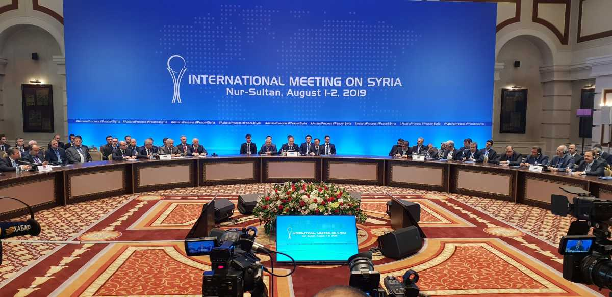 The Astana meeting (official website of the Kazakhstan Foreign Ministry, August 2, 2019)