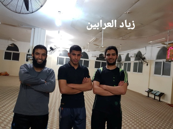 Abdallah al-Ghomri (right) and Ahmed al-Adini (Facebook page of Ziyad al-Arabin Hanjuri, August 10, 2019).