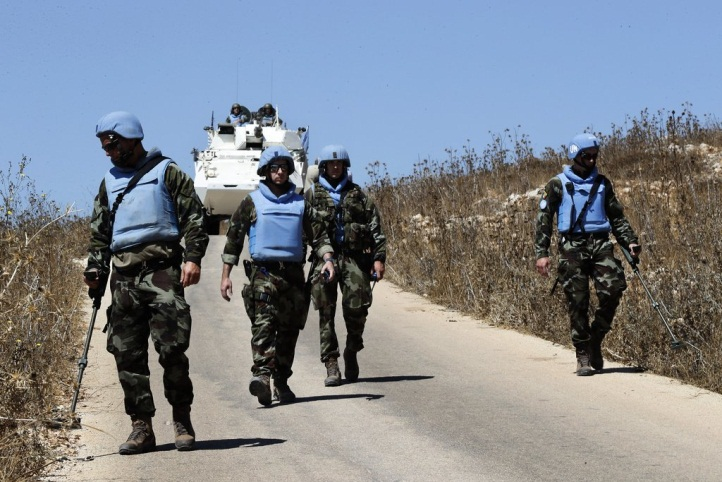 UNIFIL forces conduct a search along the Lebanon-Israeli border (Zahraa' al-Quds, September 2, 2019).