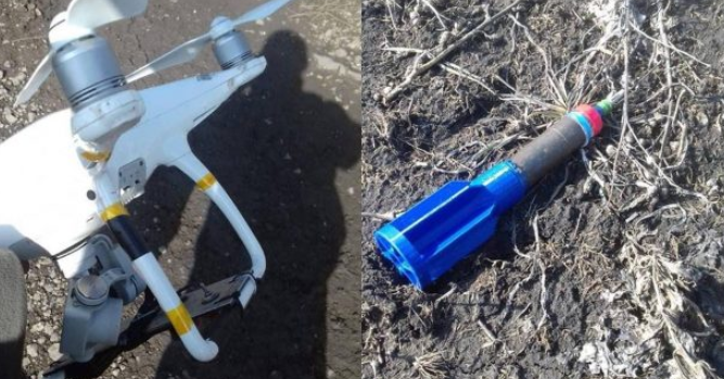 Armed ISIS drone downed by the Popular Mobilization southeast of Baqubah (al-hashed.net, September 11, 2019)