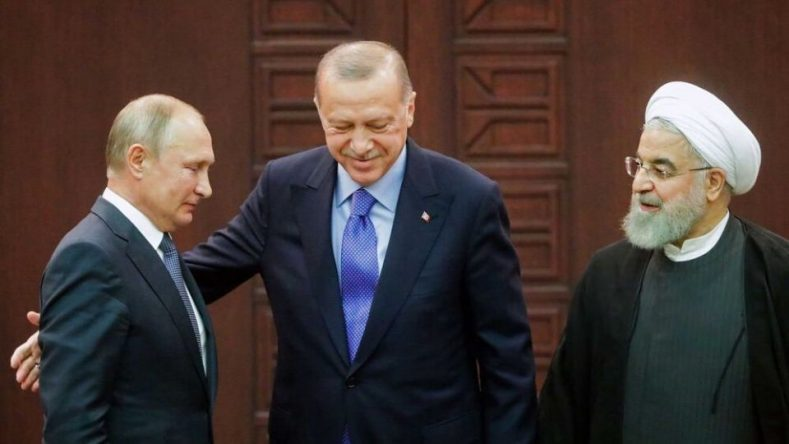 The summit of the Iranian, Russian and the Turkish President (Elaph, September 16, 2019)