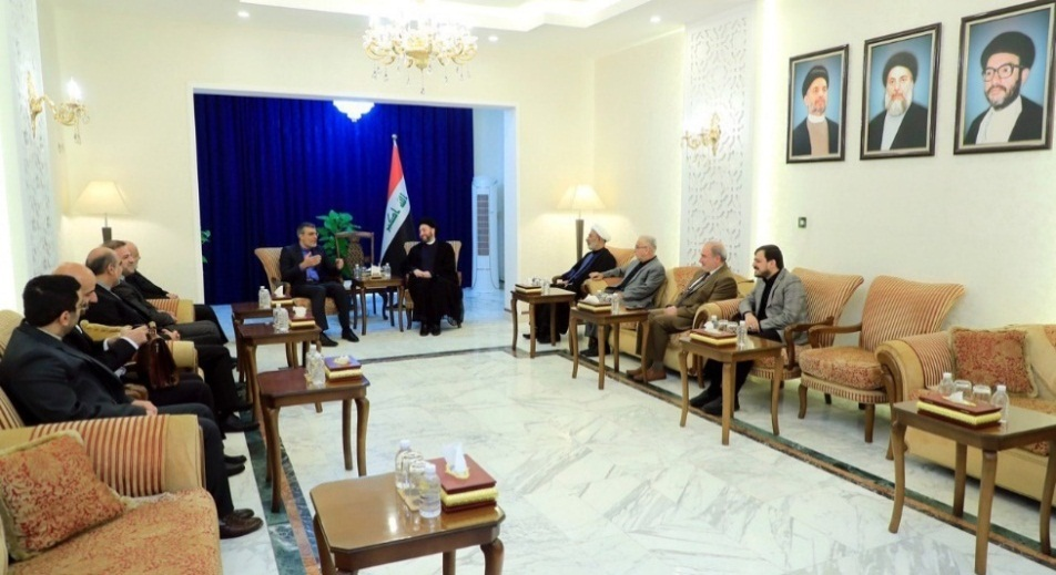 The meeting between the Iranian deputy minister of foreign affairs and Omar al-Hakim (IRNA, September 28, 2019)