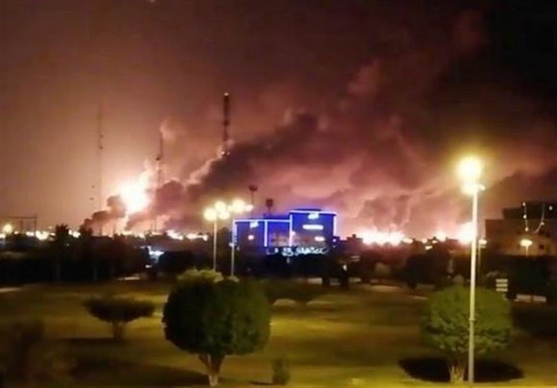The attack on the Saudi oil facilities (Tasnim, September 17, 2019)