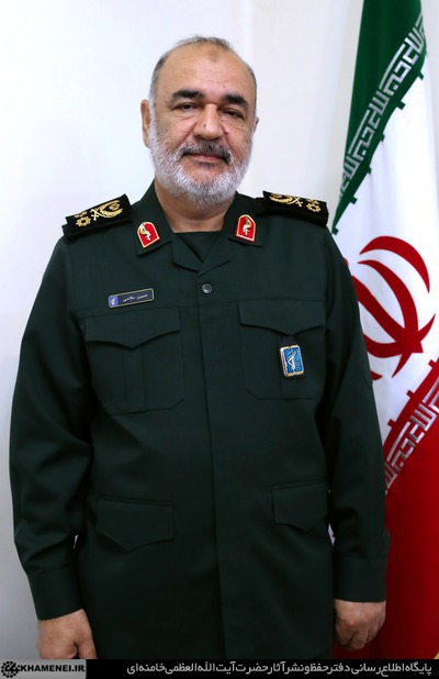 Hossein Salami (The official website of the Supreme Leader, April 22, 2019)