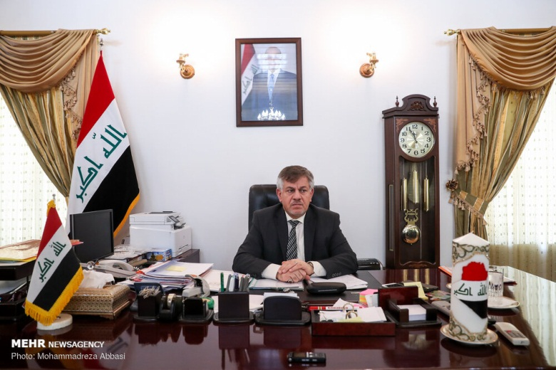 The Iraqi ambassador to Tehran (Mehr, October 17, 2019)