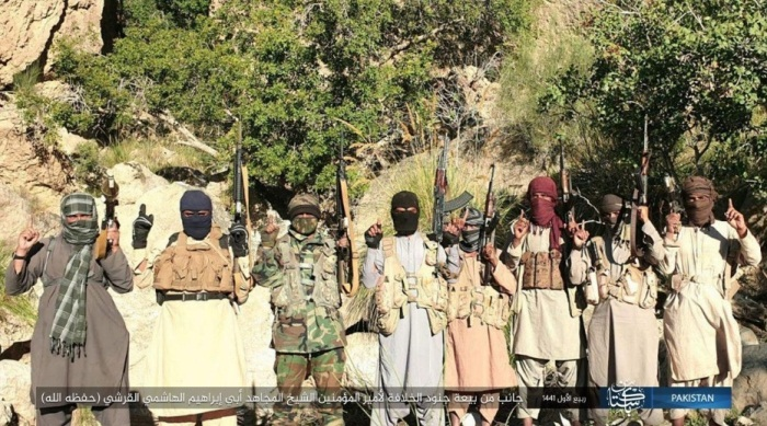 ISIS operatives from the area of Al-Bayda in Yemen pledging allegiance to ISIS's leader (Telegram, November 4, 2019)