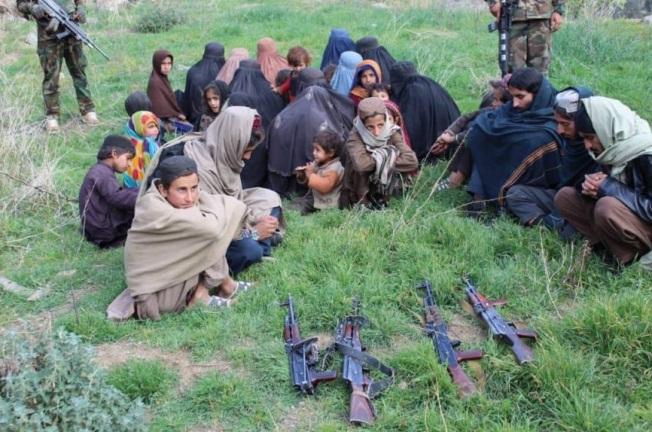 ISIS operatives and their families who surrendered to the Afghan security forces (Khaama Press, November 25, 2019)