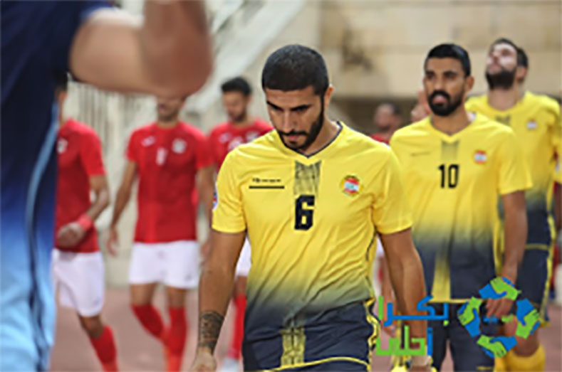 The club players in the 2019 Asia Soccer Cup. The logo of the Swiss sponsor company 14Fourteen appears on the shirt (on the left) (Bukra Ahla website, October 2019).