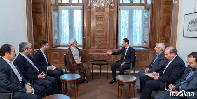 The meeting of the Iranian parliamentary delegation with President Assad (Icana.ir, November 14, 2019)