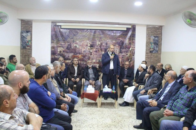 The delegation visits the refugee camps in Beirut (Hamas website, November 29, 2019).