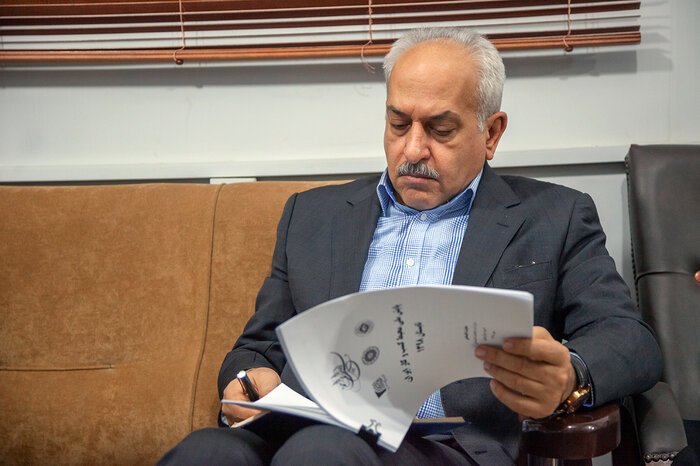 The Chairman of the Joint Iranian-Syrian Economic Committee, Kivan Kashefi (Source: IRNA, December 4, 2019)